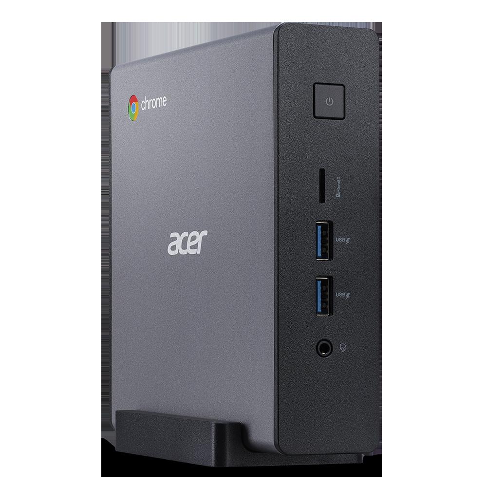 Acer Chromebox Ordenador de sobremesa | CXI4 | Negro Chrome OS, Procesador Intel® Core™ i5-10210U Quad-core (4 núcleos) 1,60 GHz, 8 GB, DDR4 SDRAM, 256 GB SSD, Intel® UHD Graphics con memoria compartida,