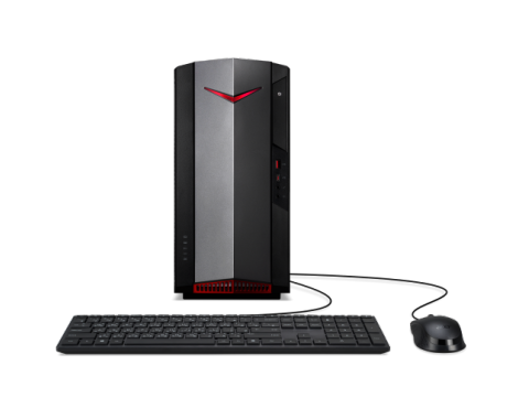 Image of Acer Nitro Desktop gaming | N50-610 | Nero