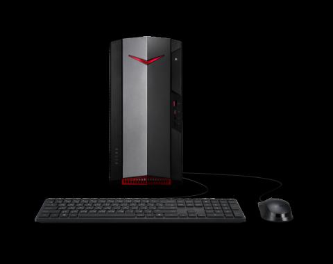 Acer Nitro Ordenador gaming de sobremesa   N50-610   Negro Sin sistema operativo, Procesador Intel® Core™ i7-10700 Octa-core (8 núcleos) 2,90 GHz, 16 GB, DDR4 SDRAM, 1 TB SSD, NVIDIA® GeForce® GTX 1660 SUPER con 6 GB memoria dedicada,
