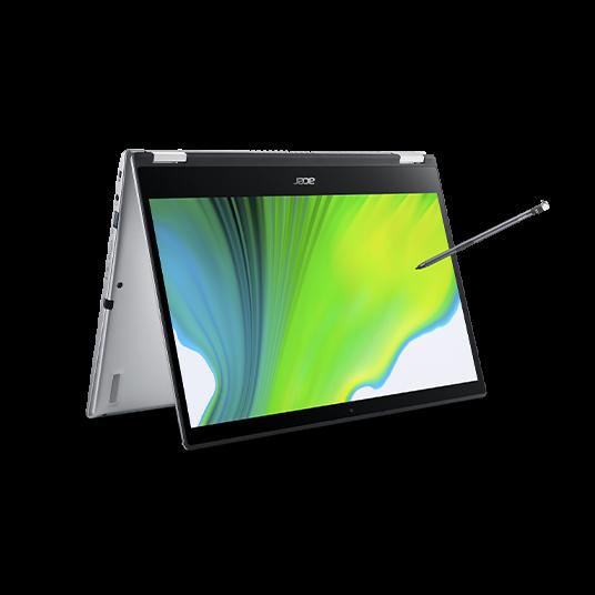 Acer Spin 3 Portátil convertible | SP314-54N | Plata Windows 10 Home 64-bit, Procesador Intel® Core™ i5-1035G4 Quad-core (4 núcleos) 1,10 GHz, 35,6 cm (14