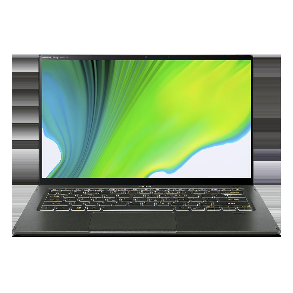 Acer Swift 5 Pro Portátil Ultrafino y Pantalla Táctil | SF514-55GT | Verde Windows 10 Pro 64-bit, Procesador Intel® Core™ i7-1165G7 Quad-core (4 núcleos) 2,80 GHz, 35,6 cm (14