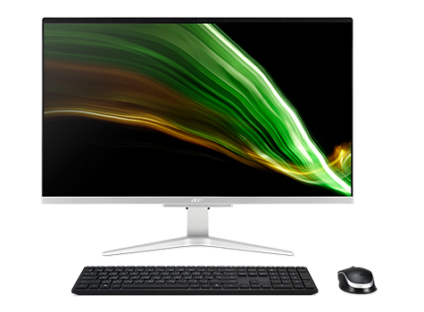 Image of Acer Aspire C 27 All-in-One | C27-1655 | Argento