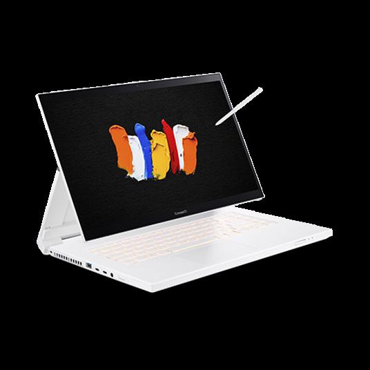 conceptd 7 ezel pro laptop | cc715-71p | white