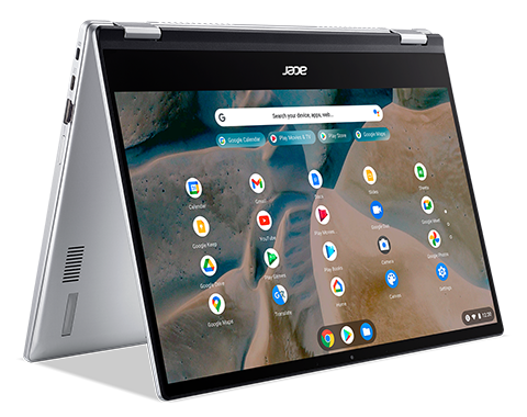 Image of Acer Chromebook Spin 514 convertibile   CP514-1HH   Argento