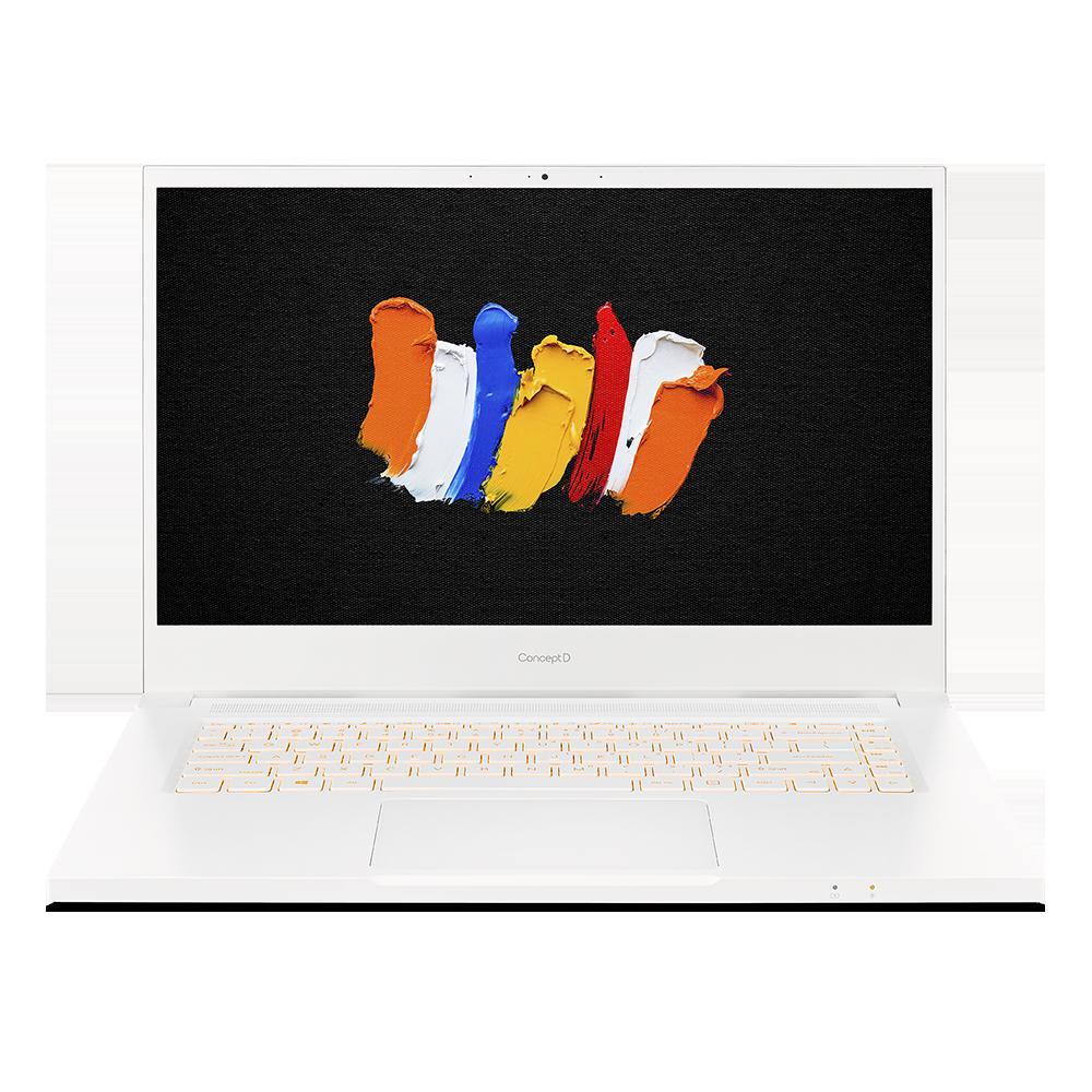 ConceptD 3 Pro Portátil | CN315-72P | Blanco Windows 10 Pro 64-bit, Procesador Intel® Core™ i7-10750H Hexa-core (6 núcleos) 2,60 GHz, 39,6 cm (15,6