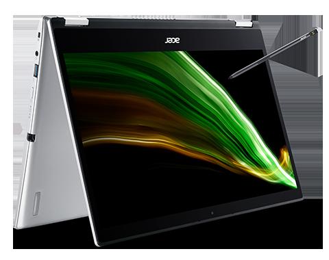 Acer Spin 1 Portátil convertible | SP114-31N | Plata