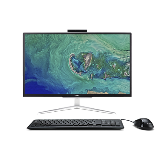Image of Acer Aspire C 24 All-in-One | C22-820 | Argento