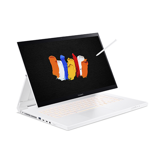Image of ConceptD 7 Ezel Notebook   CC715-71   Bianco