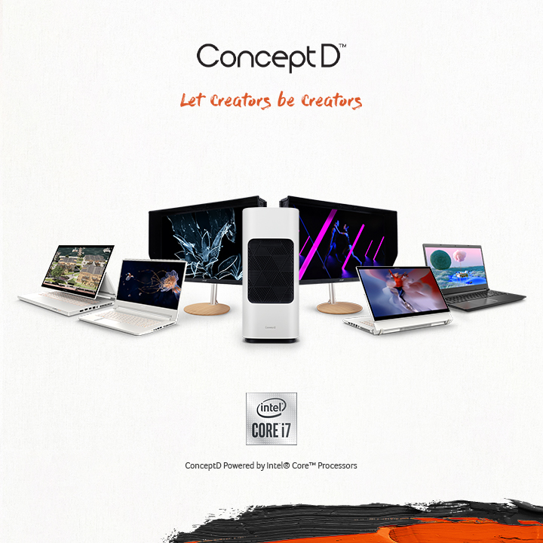 ConceptD Banner