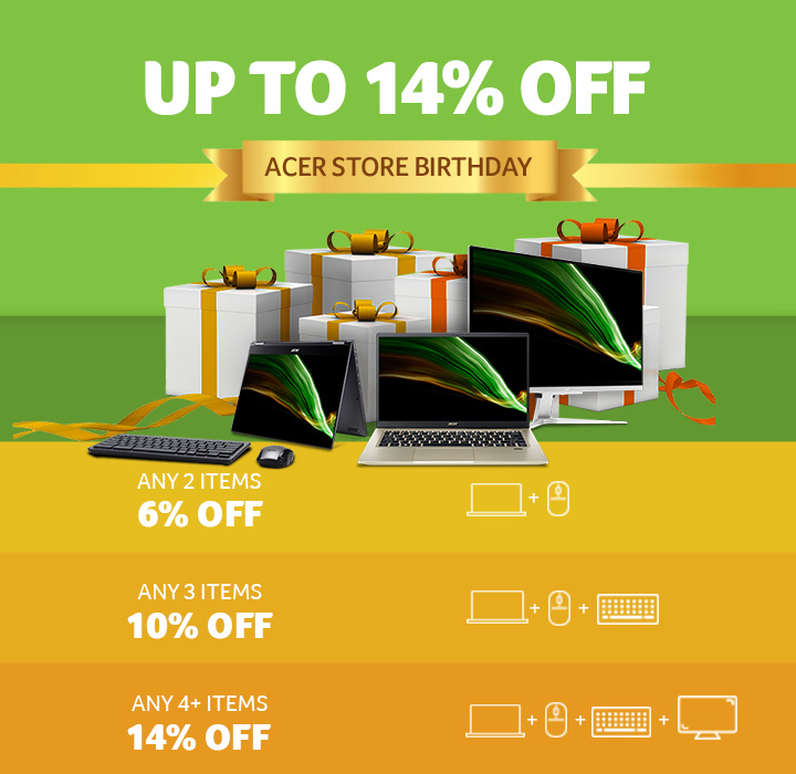 Acer Birthday Deals
