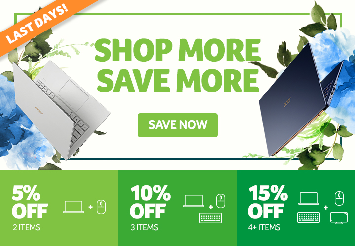 Shop More Save More - Last Days