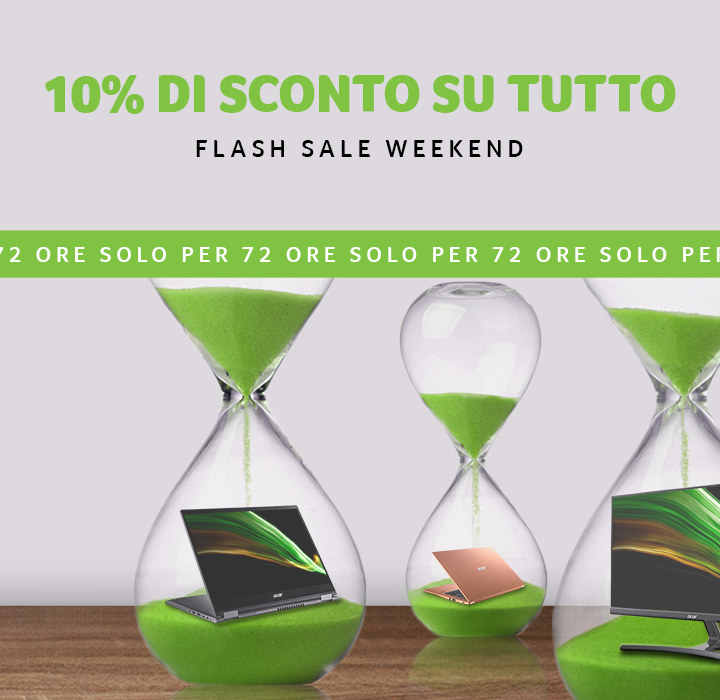 Flash Sale Weekend