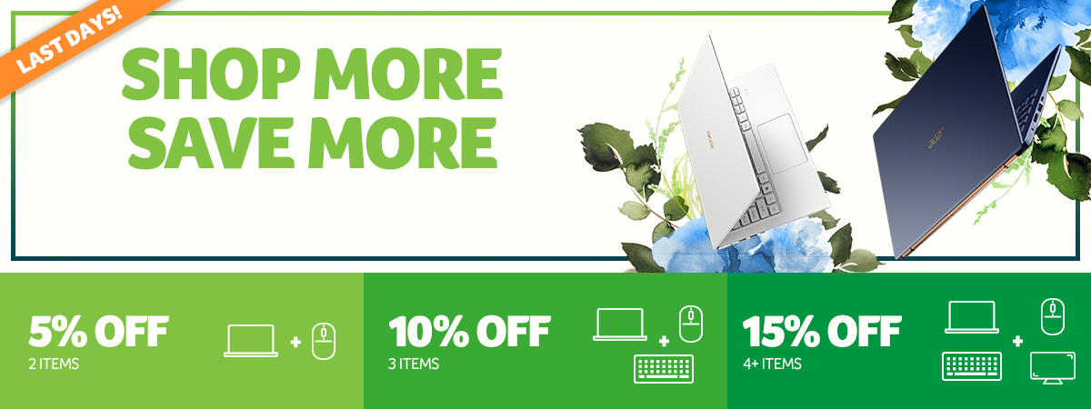 Shop More Save More Banner